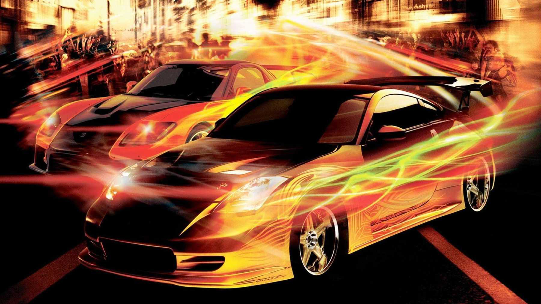 1. Fast and Furious Cars