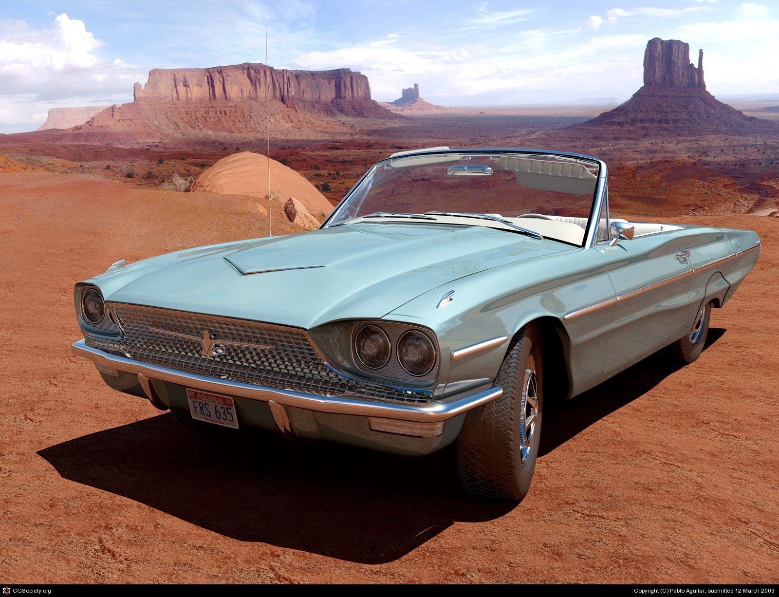 4. Thelma and Louise -- 1966 Ford Thunderbird